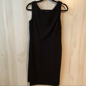 NWT Kay Unger Black Cocktail Dress Size 6